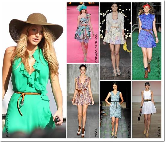 Moda De Cintos Para 2011