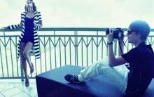 Fotos Do Ensaio De Justin Bieber E Kim Kardashian Para Elle Magazene