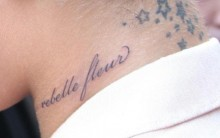 Nova Tatuagem De Rihanna – Em Francês