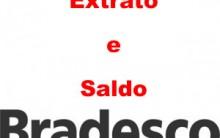 Banco Bradesco Consulta de Saldo e Extrato Pela Internet
