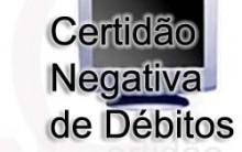 Certidão Negativa De Débitos – Informações