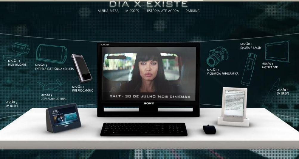 Dia X Existe – Jogo On Line Do Filme De Angelina Jolie