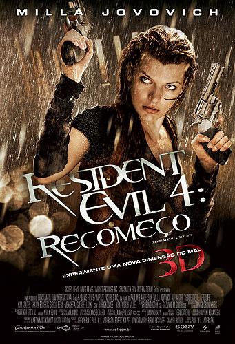Filme – Resident Evil Recomeço – Lançamento