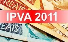 IPVA 2011 – Tabela 2011 – SP DF PR RJ SC