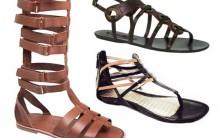 Sandálias Gladiadoras – Modelos 2011