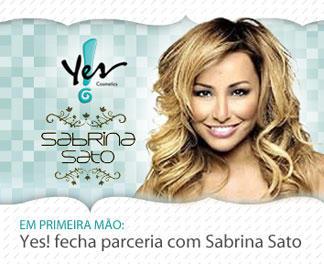 Yes Cosméticos E Sabrina Sato   Informações