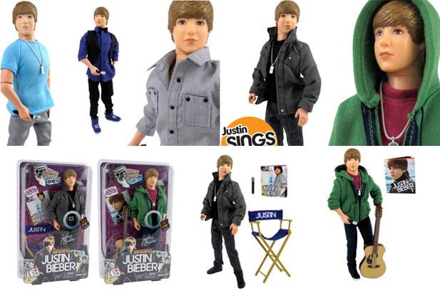 Bonecos Justin Bieber   Lançamento