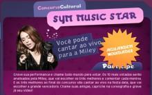 Promoção Sym Music Star Miley Cyrus – Como Participar