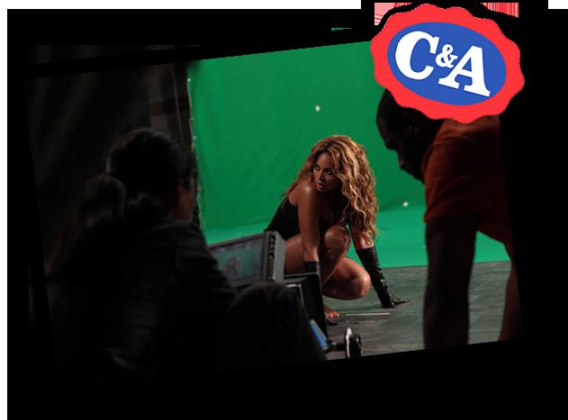 Beyoncé em Coleção de Natal da C&A