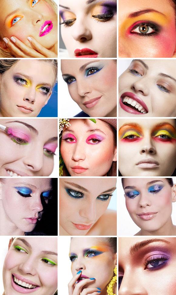 Maquiagens Com Tons Vibrantes Para 2011