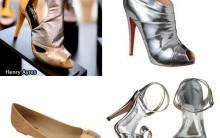 Sapatos Metalizados Para Verao 2011