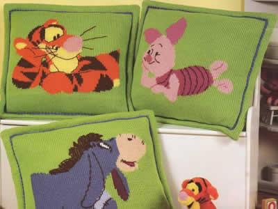 Almofadas com Personagens de Desenhos Para 2011