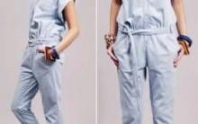 Macacões  Jeans Moda Verão 2011