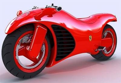 Moto Ferrari V4