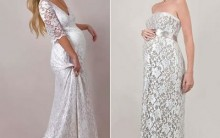Vestido de Noiva Para Gestantes 2011