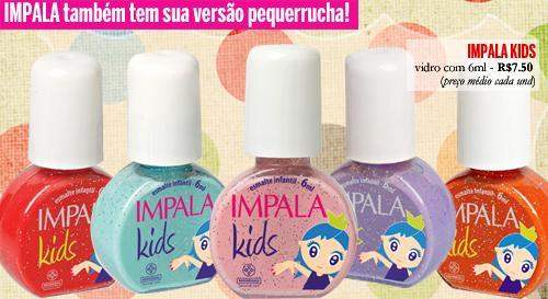 Esmaltes Impala Infantil Para Verão 2011