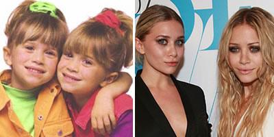 As gêmeas Mary-Kate e Ashley Olsen