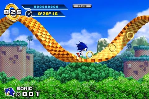 Lançamento do Sonic 4 Para Iphone em 2011