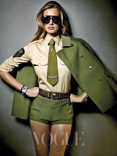 Moda Militar Inverno 2011