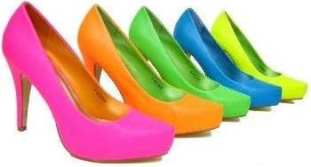 Sapatos Neon 2011