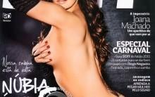 Núbia Óliiver – Capa Da Revista Sexy De Fevereiro De 2011
