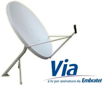 TV Via Embratel Internet HD – Barueri – Osasco – Jandira – Cotia SP