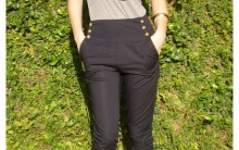Calças de Cintura Alta Moda 2011
