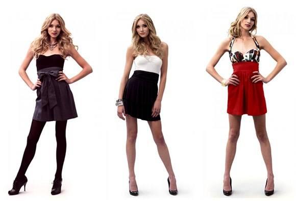 Saias Cintura Alta Moda 2011