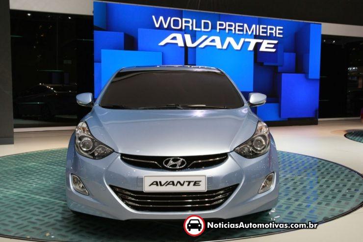 Novo Hyundai Elantra Fotos e Preços 2011