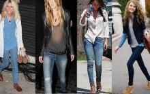 Moda das Calças Jeans Skinny 2011