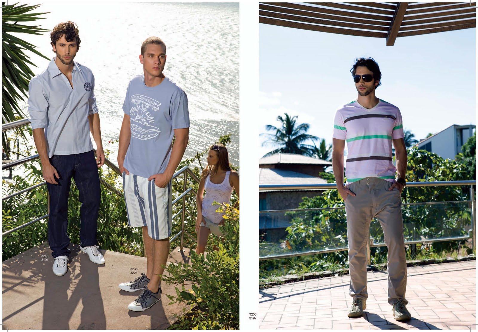 Moda Masculina Verão 2011