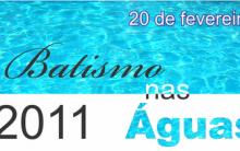 Batismo nas Águas 2011