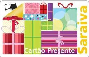 Cartão Presente Saraiva- Como Solicitar