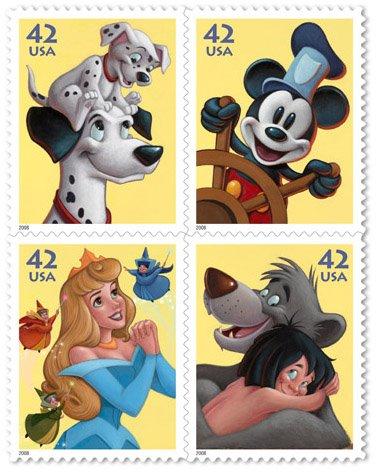 Coleção De Selos Wall Disney – Modelos