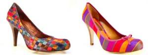Sapatos Coloridos Moda 2011