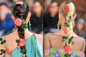 Tranças Com Flores – Tendências 2011