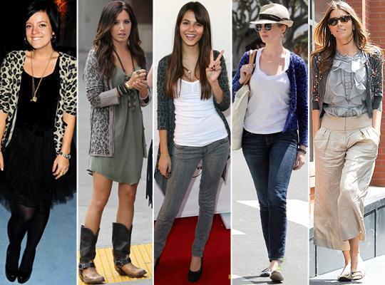 Cardigã Moda 2011
