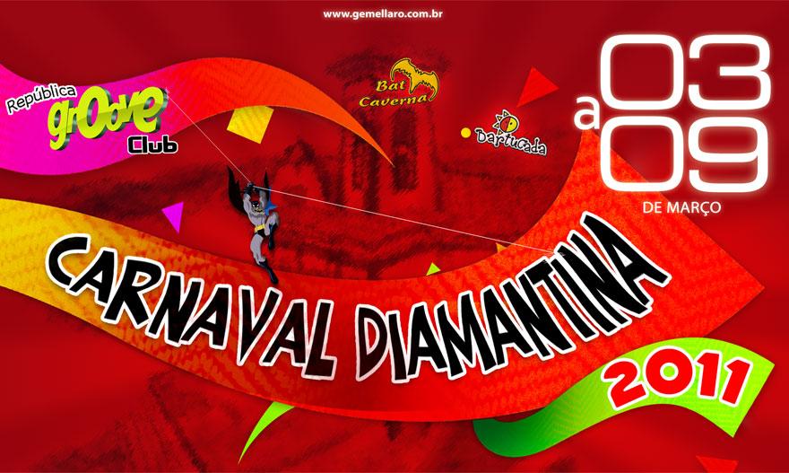 Atrações Para Carnaval 2011 em Diamantina