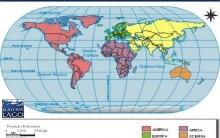 Mapa do Mundi-Países