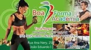 Academia Boa Forma – Informações