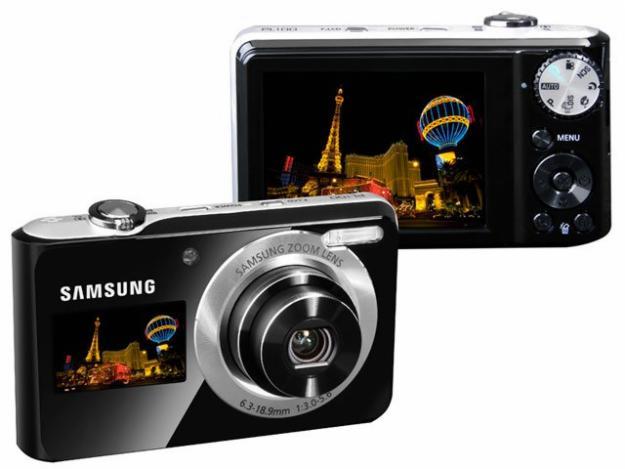 Nova Câmera Samsung PL100 – Informações