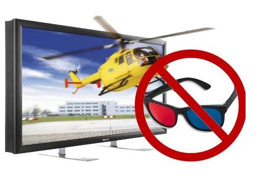 TV 3D Sem Uso Do Óculos