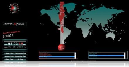 WWW. Timeticker.com- Site Para Saber as Horas Em Qualquer Parte do Mundo
