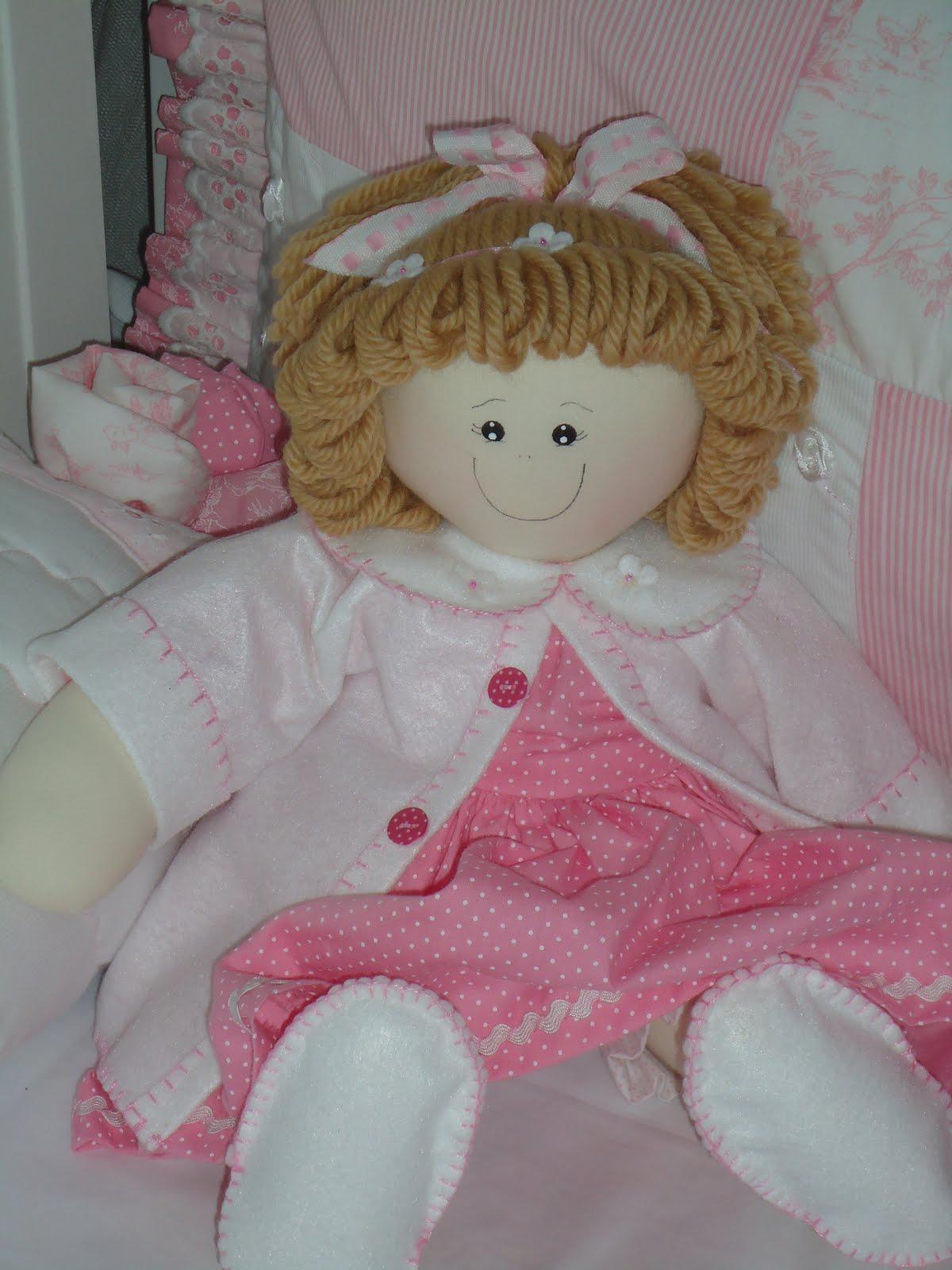 Bonecas de Panos Para Decoração de Quartos de Bebês