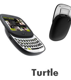 Celular Turtle da Microsoft