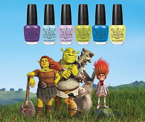 Esmaltes do Filme Shrek