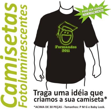 Frases para Camisetas de Formatura 2011