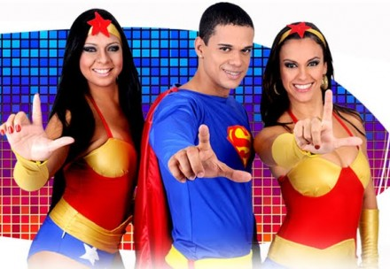 Banda Leva Noiz- Letra e Vídeo da Música Super-Man Liga da Justiça