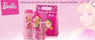 Linha da Barbie Avon