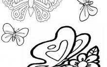 Desenhos de Borboletas Para Colorir Online